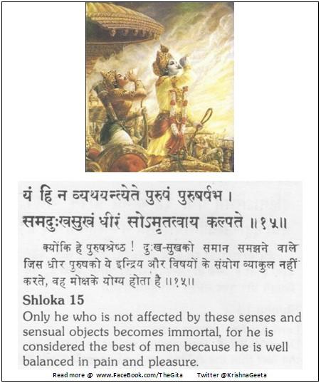 Bhagwad Geeta 2-15 - TheGita.net