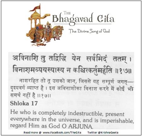 Bhagwad Geeta 2-17 - TheGita.net