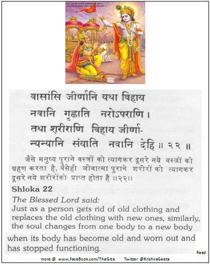 Bhagwad Geeta 2-22 - TheGita.net