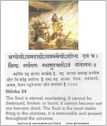 Bhagwad Geeta 2-24 - TheGita.net