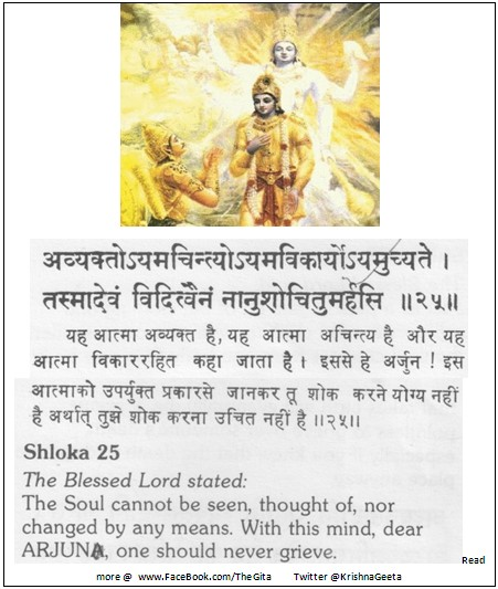 The Gita - Chapter 2 - Shloka 25