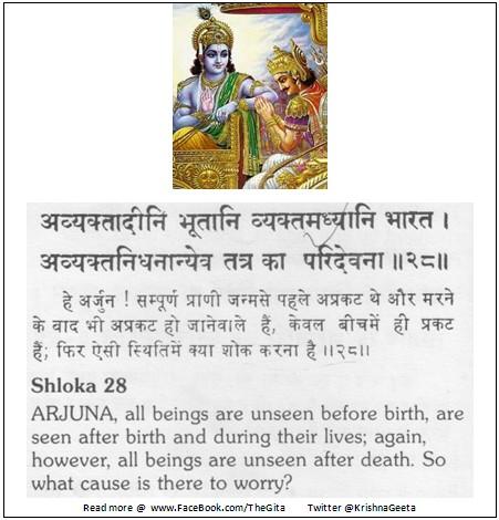 Bhagwad Geeta 2-28 - TheGita.net