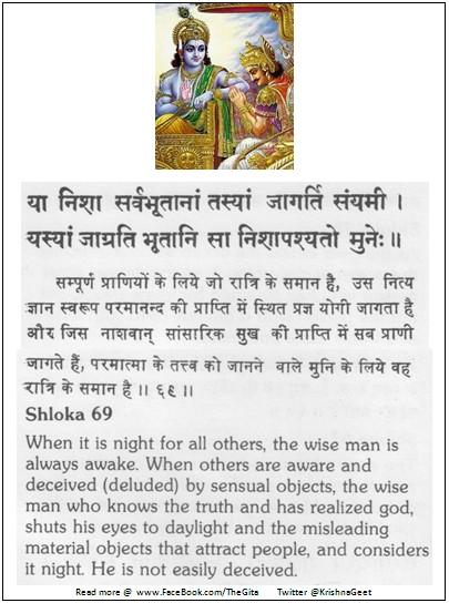 Bhagwad Geeta 2-69 - TheGita.net