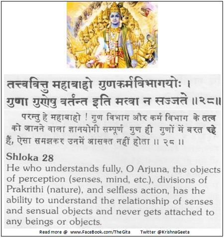 Bhagwad Geeta 3-28 - TheGita.net