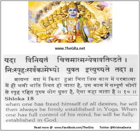 Bhagwad Geeta 6-18- TheGita.net