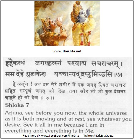 The Gita - Chapter 11 - Shloka 07