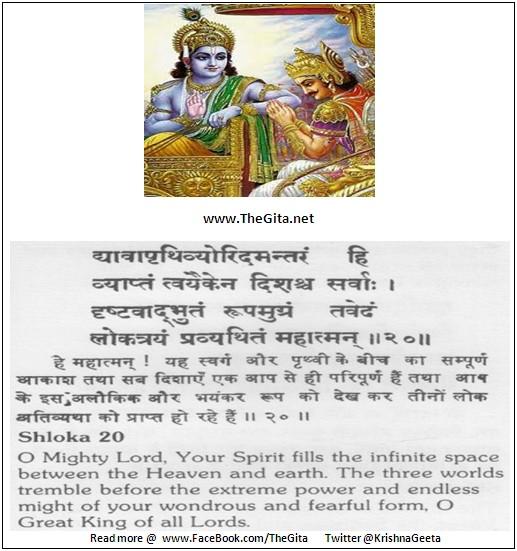 Bhagwad Geeta 11-20- TheGita.net
