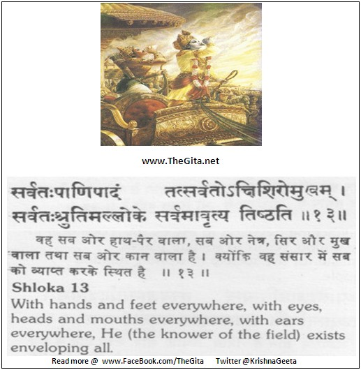 The Gita – Chapter 13 – Shloka 13